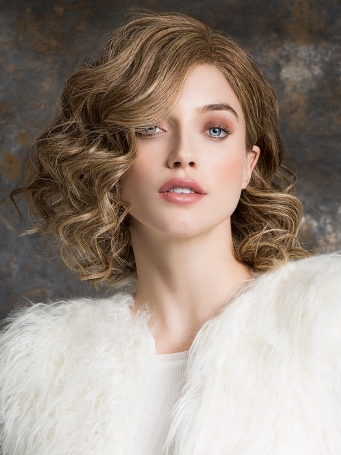 Trinity Plus Wig<br>Remy Human Hair<br>Full Hand-Tied-Lace Front<br>Ellen Wille
