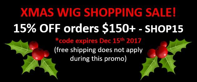 Wig Sale 2017