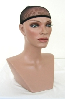 Mesh Wig Cap<br>Nude or Black