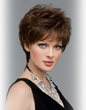 Aubrey Wig<br>Human Hair/SyntheticFull Hand-tied<br>by Envy