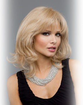 Danielle Wig<br>Human Hair/SyntheticMono Top-Lace Front<br>by Envy Wigs