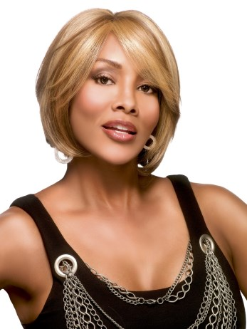 Leni-V Wig<br>Full Hand Tied<br>Heat Friendly<br>Vivica Fox