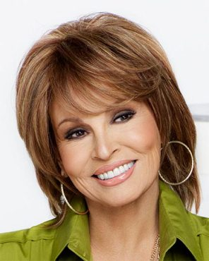 On Cue Wig<br>Human Hair<br>Hand-Tied-Lace Front<br>Raquel Welch