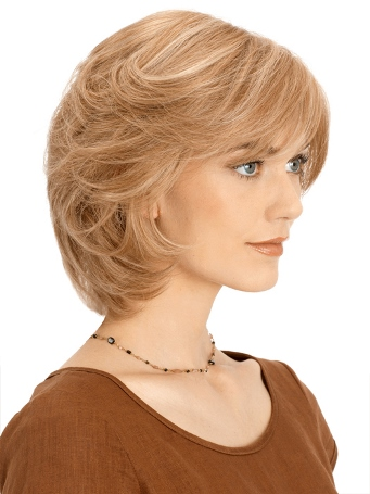 PLF004HM Wig<br>Human Hair<br>Lace Front-Full Hand Tied<br>Louis Ferre
