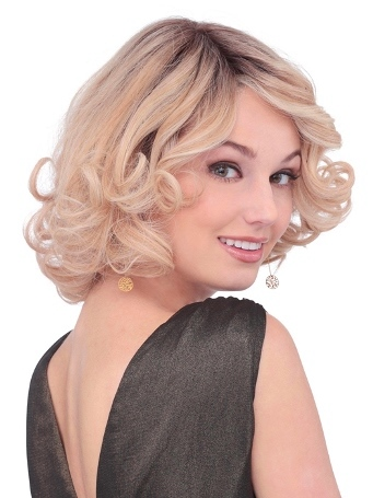 PLF008HM Wig<br>Human Hair<br>Lace Front-Full Hand Tied<br>Louis Ferre