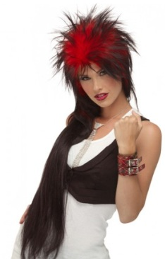 Punky Long<br>Costume Wig<br>3 colours available<br>by Jon Renau