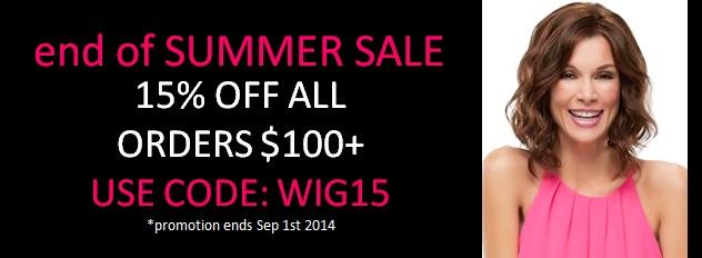 summer wig sale