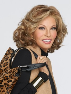 Brave the Wave Wig Lace Front Mono Part by Raquel Welch