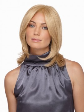 Brook Wig Remy Human Hair Lace Front Mono Top by Estetica Designs