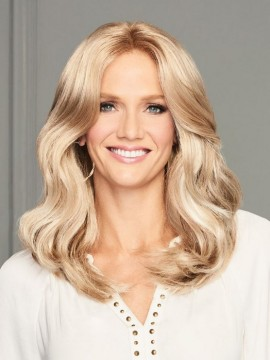 Center of Attention Lace Front Mono Part Wig by Eva Gabor