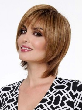 Dena Wig Full Hand Tied Human Hair/Synthetic Blend by Envy Clearance Colour