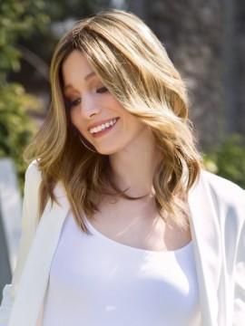 Irene Wig Human Hair Mono Top by Fair Fashion