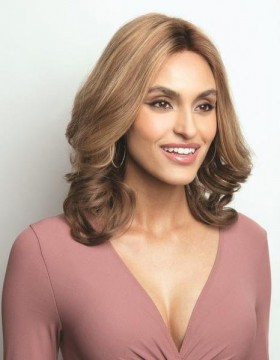 Megan Petite Wig Human Hair Lace Front Hand Tied by Fair Fashion