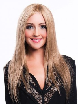 Monica Petite Wig Lace Front Human Hair Full Hand Tied by New Image