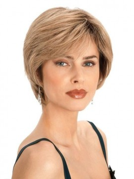 PLF003HM Wig Human Hair Lace Front Hand Tied Mono Top by Louis Ferre