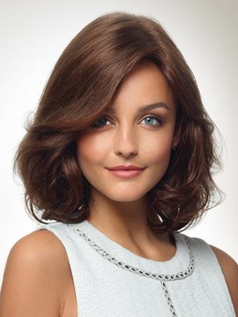 Analisa Wig<br>Human Hair<br>Mono Top<br>Revlon
