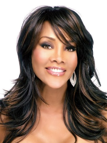 Brie Wig<br>Heat Friendly<br>Skin Part<br>Vivica Fox
