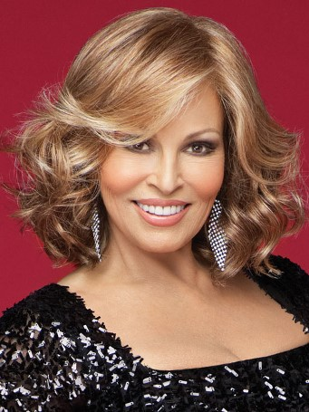 Celebrity Wig<br>Lace Front-Mono Top<br>Full Hand-Tied<br>Raquel Welch