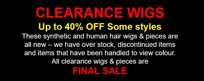 Sale Wigs
