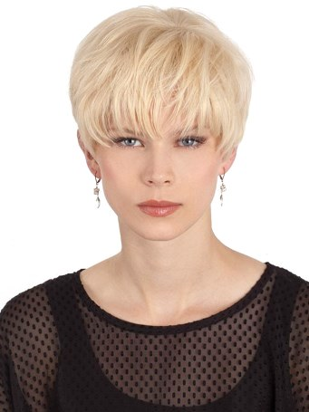 Crystal Wig<br>Human Hair<br>Mono Top<br>Louis Ferre