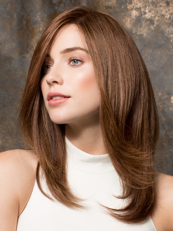 Emotion Wig Petite<br>Remy Human Hair<br>Lace Front<br><Full Hand-Tied<br>Ellen Wille