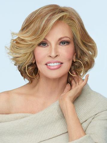 Flirt Alert Wig<br>Lace Front-Mono Part<br>Heat Friendly<br>Raquel Welch