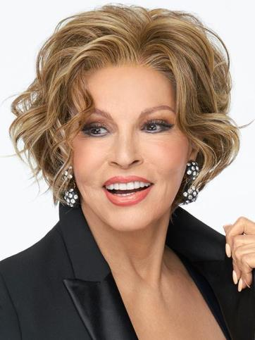 Going Places Wig<br>Lace Front-Mono Part<br>Heat Friendly<br>Raquel Welch