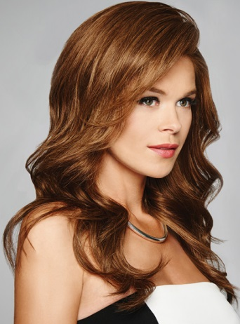 Grand Entrance Wig<br>Human Hair<br>Lace Front-Mono Top<br>Raquel Welch