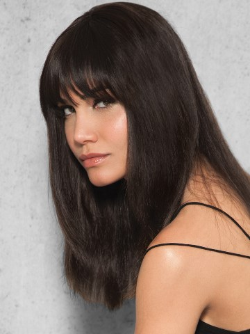 Clip-in Bang Extension<br>Human Hair<br>by Hairdo