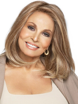 Headliner Wig<br>Human Hair<br>Lace Front-Full Hand-Tied<br>Raquel Welch