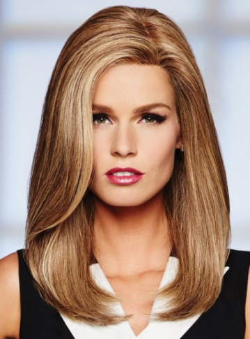 High Profile Wig<br>Human Hair<br>Mono Top<br>Raquel Welch