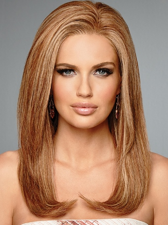 High Fashion Wig<br>Remy Human Hair<br>Lace Front-Hand Tied<br>Raquel Welch