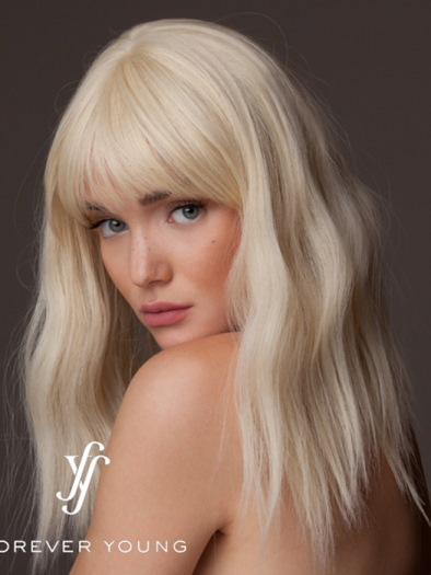 Indie Waves Wig<br>Mono Part<br>Heat Friendly<br>by Forever Young