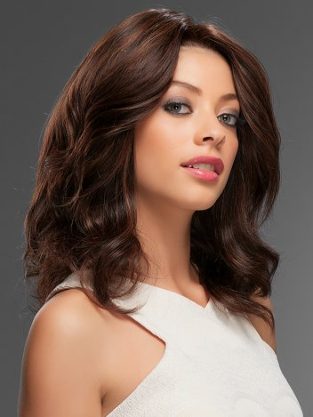 Jennifer Wig<br>Remy Human Hair<br>Lace Front-Hand-Tied<br>Jon Renau