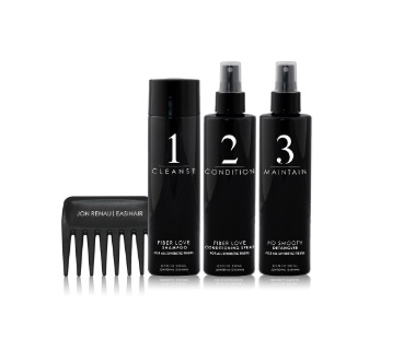 5 Piece Hair Care Kit<br>with Plastic Stand<br>by Jon Renau