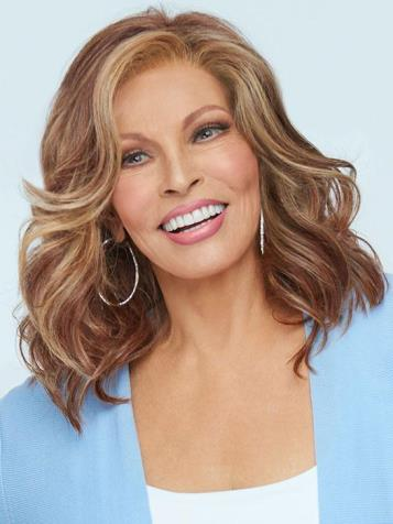 Maximum Impact Wig<br>Lace Front-Mono Top<br>Heat Friendly<br>Raquel Welch