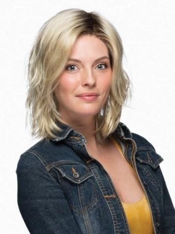 Mellow Wig<br>Lace Front-Mono Part<br>by Estetica Designs