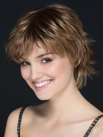Miranda Wig<br>Mono Crown<br>Ellen Wille