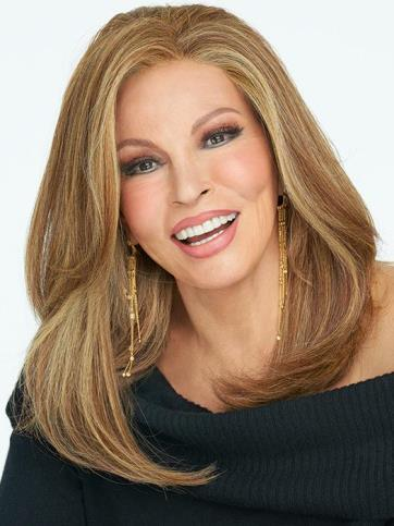 Nice Move Wig<br>Lace Front-Mono Part<br>Heat Friendly<br>Raquel Welch