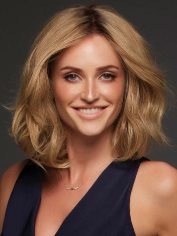 Nicole Elite Wig<br>Human Hair<br>Lace Front-Mono Top<br>Jon Renau