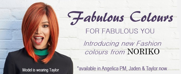 Noriko Wigs Fashion colors