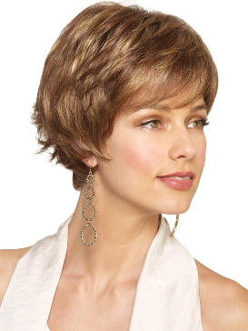 Olivia Wig<br>Clearance Colour<br>Full Hand-Tied-Lace Front<br>by Amore
