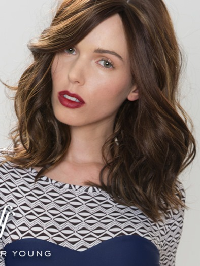 Parisian Bob Wig<br>Mono Part<br>Heat Friendly<br>by Forever Young