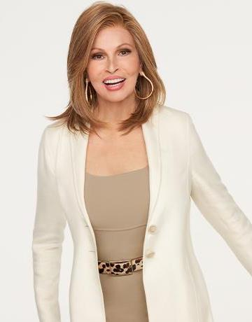Pretty Please Wig<br>Temple to Temple<br> Lace Front Hand-Tied<br>Heat Friendly<br>Raquel Welch
