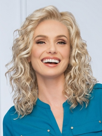 Radiant Beauty Wig<br>Lace Front<br-Mono Part<br>by Eva Gabor