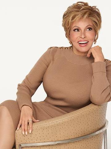 Ready for Takeoff Wig<br>Temple to Temple<br>Lace Front Hand-Tied<br>Heat Friendly<br>Raquel Welch
