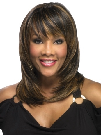 Rumer Wig<br>Heat Friendly<br>Skin Part<br>Vivica Fox