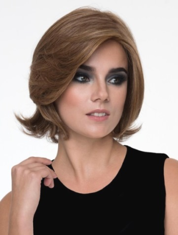 Sabrina Wig<br>Human Hair/<br>Synthetic Blend<br>Mono Top Hand Tied<br>by Envy
