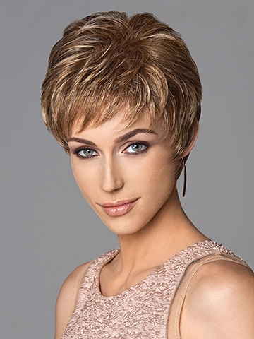 Short and Sweet Wig<br>Hand-Knotted Top<br>Clearance Colour<br>Eva Gabor