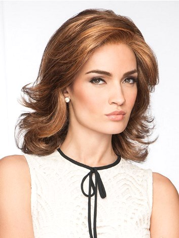 Socliate Wig<br>Mono Part<br>Lace Front<br>Eva Gabor